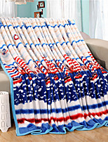 Boats Fleece fabric blanket summer comforter Air conditioning throw winter soft bedsheet for single or double bed