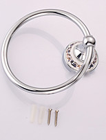 Towel Ring / Silver / Wall Mounted /14*10*8cm /Zinc Alloy /Contemporary /14cm 10cm 0.24