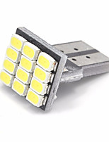10pcs T10 1206 12SMD White Car LED Auto Marker Bulbs Interior Lamps Clearance Lighting (DC12V)