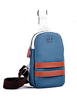 Men PU Casual Outdoor Shoulder Bag Black Brown Blue