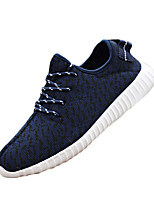 Men's Sneakers Summer Styles / Round Toe Fabric Outdoor / Athletic Flat Heel Lace-up Black / Blue / Red / Gray Sneaker
