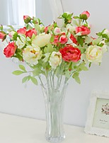 Hi-Q 1Pc Decorative Flower Peonies Wedding Home Table Decoration Artificial Flowers