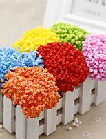 1PC 1 Ramo Isopor Outras Flor de Mesa Flores artificiais 3.9inch/10cm