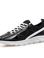 Men's Shoes Outdoor Fashion Sports Shoes Leisure Microfiber Fabric Shoes Gold / Sliver /Black