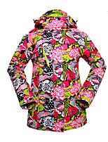 Ladies Outdoor Ski Suit Windproof Warm Singles Clothes