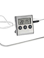 Kitchen Food Thermometer (Clear Digital Display , Alarm Temperature Can Be Set)
