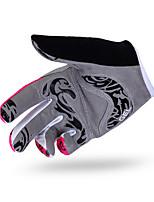 Guantes Ciclismo/Bicicleta Mujer Dedos completosA prueba de resbalones / Mantiene abrigado / Resistencia al desgaste / A prueba de viento