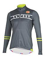 Sports Bike/Cycling Tops Men's Long Sleeve Breathable /Ultra Light Fabric / Warm LYCRA® / Terylene Classic / British