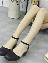 Women's Sandals Summer Sandals / Square Toe PU Casual Chunky Heel Others White Others