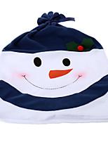 Eco-compatibile Decorazioni di nozze-1Piece / Set Coprisedia Natale Classico Nero / Rosso / Verde / Blu Inverno Non personalizzatoColore