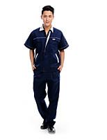лето с короткими рукавами комбинезон костюм мужской инженерные услуги защитная одежда (размер: 175)