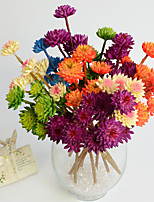 Hi-Q 1Pc Decorative Flower Houseleek Wedding Home Table Decoration Artificial Flowers