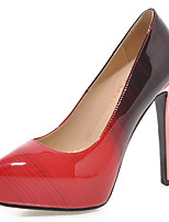 Women's Shoes Stiletto Heel Pointed Toe Color Contrast Platform Pump More Color Available
