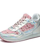 Da donna-Sneakers-Sportivo-Comoda-Piatto-Sintetico-Nero / Rosa / Beige