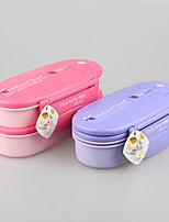 yooyee BPA бесплатно двухпалубный бенто контейнер еды столовые приборы