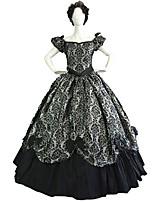 Steampunk®High Quality Southern Belle Victorian Princess Dress Dark Queen Ball Gown Reenactment Theatre Women Costume