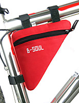 велосипед сумкаБардачок на раму Водонепроницаемая застежка-молния / Ударопрочность / Пригодно для носки / Влагонепроницаемыйсумка