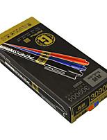 la caja grande negro fino color de la pluma marca de la pluma aceitosa cd gancho línea gruesa pluma de la pluma del negro 8 2 2 azul rojo