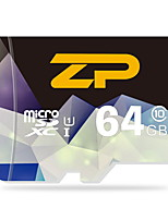 UHS-I de 64gb zp u1 / classe 10 microSD / microSDHC / microSDXC / tfmax lire speed80 (mb / s)