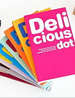 Thickening Notepad Color Inside Pages Deli Cious Diary