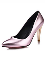Women's Heels Fall / Winter Heels PU Dress / Casual Stiletto Heel Others Red / Silver / Gold / Taupe Walking