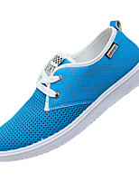 Women's Shoes Tulle Summer Flats Sneakers Athletic Flat Heel Others Blue / Gray / Khaki Sneaker