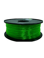 korrosionsbeständige PETG transparent 3D 3D Druck liefert Drucker liefert grün