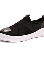 Men's Loafers & Slip-Ons Spring / Summer / Fall Round Toe PU Athletic / Casual Flat Heel Others Black / Blue