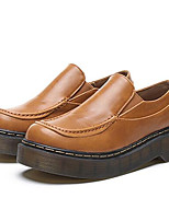 Women's Loafers & Slip-Ons Spring / Fall Creepers Leatherette Outdoor / Casual Platform Others  Walking