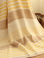 British Grid Cotton Absorbent Gauze Bath Towel