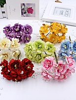 Hi-Q 1Pc Decorative Flower Plum Wedding Home Table Decoration Artificial Flowers
