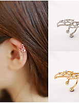 Earring Wings/Feather Stud Earrings Jewelry Women Bikini / Adorable / Personality Daily / Casual Alloy 1pc Gold / Silver