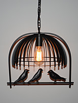 Vintage American Industrial Bird Chandelier Lamp Restaurant Bar Cafe Minimalist Personality Iron Lamps