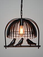 40W Luzes Pingente ,  Rústico Pintura Característica for LED MetalSala de Estar / Quarto / Sala de Jantar / Cozinha / Quarto de