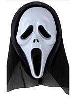 Polyethylene Wedding Decorations-1Piece/Set Mask Halloween Vintage Theme White