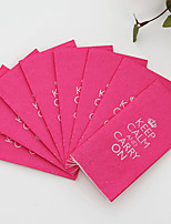 100% virgin pulp 50pcs KEEP CALM AND CARRY ON Wedding Napkins