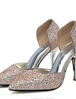 Women's Heels Spring / Fall Heels Leatherette Wedding / Party & Evening / Dress Stiletto Heel Sparkling GlitterOthers