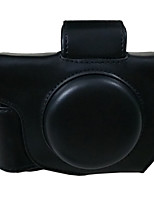 G5X 油皮相机包 Camera Case For Canon G5X Camera Camera(Black/Brown/Coffee)