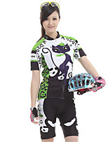 Sports Bike/Cycling Jersey + Shorts / Clothing Sets/Suits Women's Short Sleeve Waterproof / Breathable