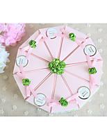 Cajas de regalos(Rosado,Papel de tarjeta) -Tema Jardín / Tema Asiático / Tema Floral / Tema Lazo / Tema Clásico / Tema Fantástico-