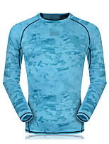 Running Sweatshirt Unisex Long Sleeve Breathable / Quick Dry / Sweat-wicking / Compression