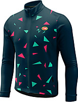 Sports Bike/Cycling Tops Men's Long Sleeve Breathable / Front Zipper / Wearable / Ultra Light Fabric