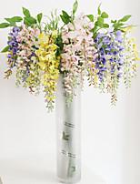 Hi-Q 1Pc Decorative Flower Chlorophytum Comosum Wedding Home Table Decoration Artificial Flowers