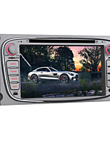 Android 5.1 Auto-DVD-Spieler für Ford Focus 2007 ~ 2010 Quad-Core-7-Zoll-1024 * 600 GPS-Navigationsradio bluetooth