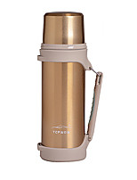Travel Travel Bottle & Cup Travel Drink & Eat Ware Stainless Steel / Rubber Blue / Gold / Silver KUSHUN™
