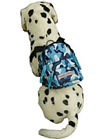 2016 Blue Pink Green Fashion Camouflage Dog Backpack  Carrible Pets Bag Teddy Bags with S L Size Outdoor Dog Bag