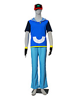 geïnspireerd door pocket monster ash ketchum anime cosplay kostuums cosplay kostuums