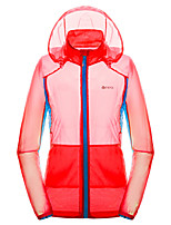 Outdoor Women's Tops Leisure Sports Waterproof / Breathable / Quick Dry Spring / Summer / Autumn Others-Sports