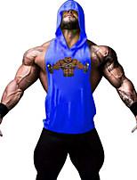 Running Tops / Vest / Hoodie / Shirt / Sweatshirt / Tank Men's SleevelessBreathable / Sweat-wicking / Softness