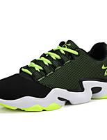 Men's Sneakers Spring / Fall Comfort Tulle Casual Flat Heel  Blue / Green / Red / Orange Sneaker